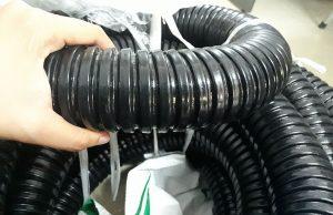 ống ruột gà pvc lõi thép bọc nhựa mỏng