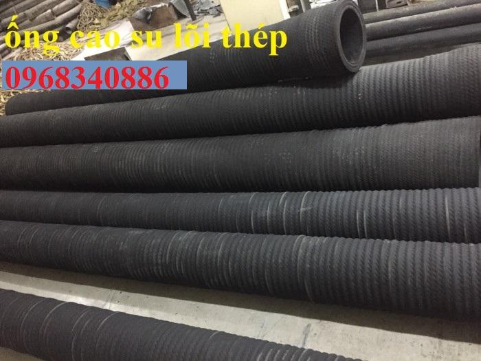 ống cao su bố vải lõi thép