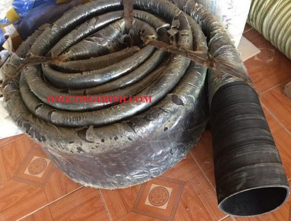 ống cao su bố vải phi 250
