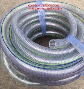 ống nhựa mềm lõi thép sạch