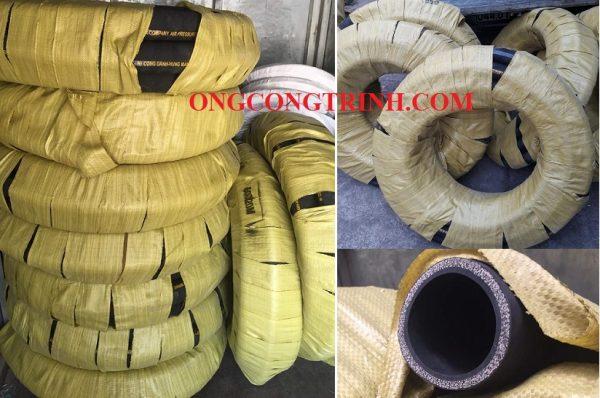 ống cao su bố vải 5 lớp bố