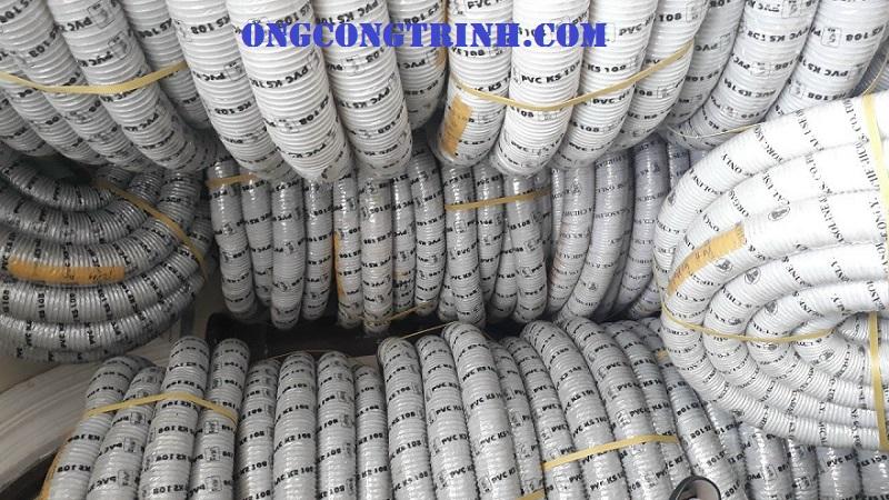 ống hút bụi gân nhựa công nghiệp